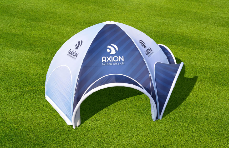 Spider AXION with visors event tent AXION4EVENT