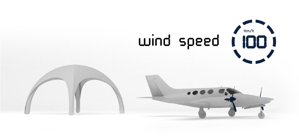 High wind resistance